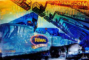 Grafisch kunstwerk Genie, Riwal