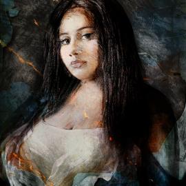 Adriana, grafische realisme door Wim Noordam