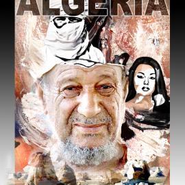 Ontwerp filmposter Algerije