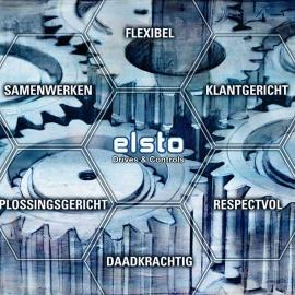 Grafisch kunstwerk Elsto