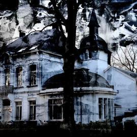 Grafische kunst, Huis in Essen, Wim Noordam