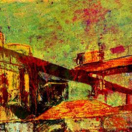 Industriële compositie door Wim Noordam