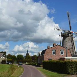 Molen in Wouw, foto Wim Noordam
