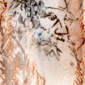 Aquarel, inkt - portret 6