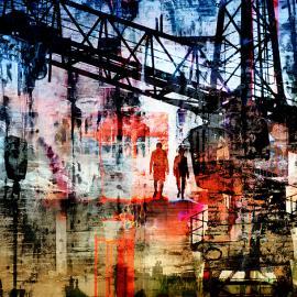 De wandeling, grafische realisme door WimNoordam