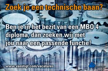 grafische kunst, vacature ADS van Stigt