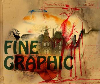 Fine Graphic, digitale kunst, dokter
