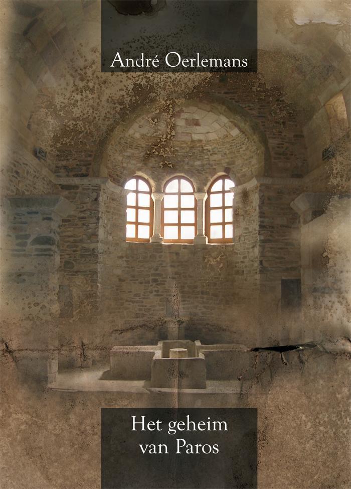 Ontwerp boekomslag - Het geheim van Paros