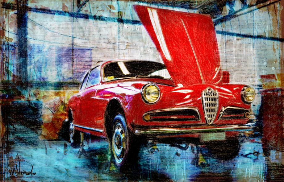 Grafische kunst, Alfa Romeo
