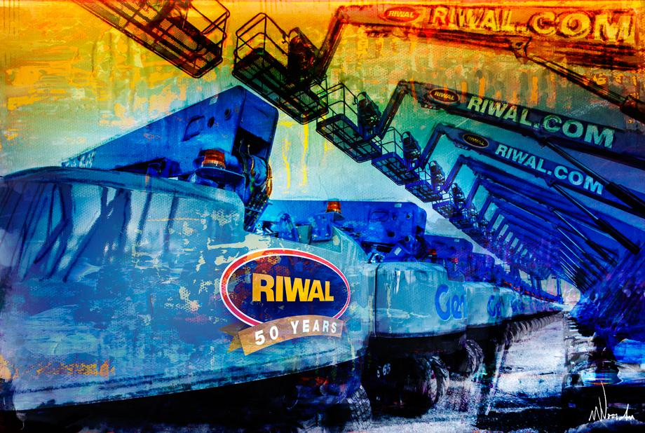 Grafische kunst Genie - Riwal 50 jaar